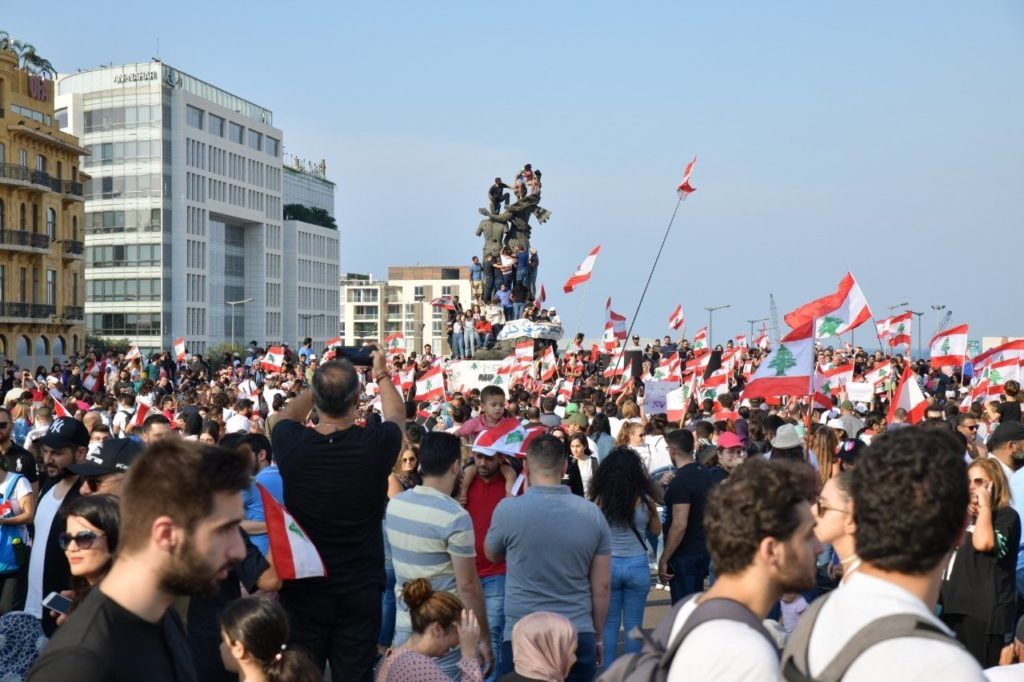 beirut demonstrations