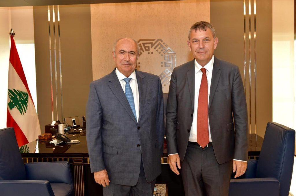 فؤاد مخزومي و فيليب لازاريني