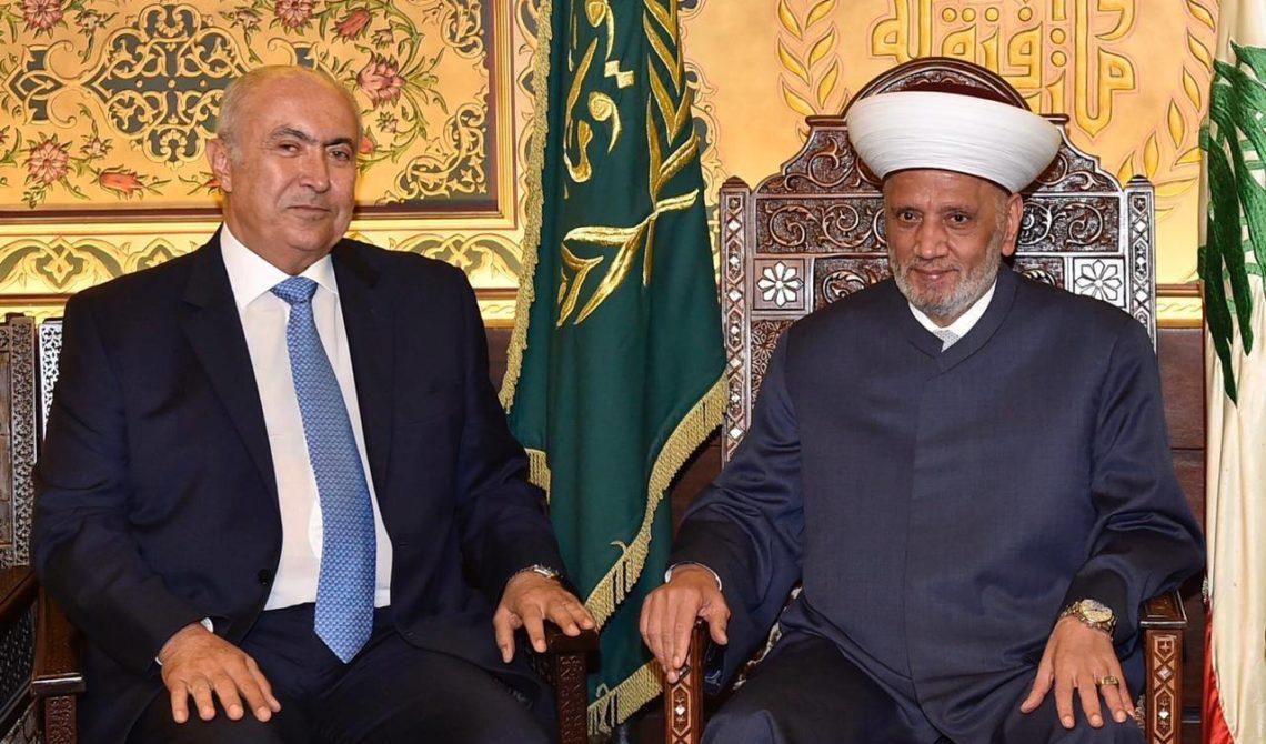فؤاد مخزومي و سماحة المفتي الشيخ عبد اللطيف دريان