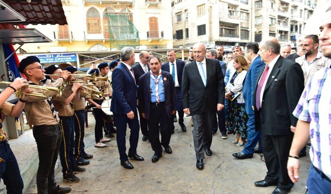فؤاد مخزومي في مدينة طرابلس