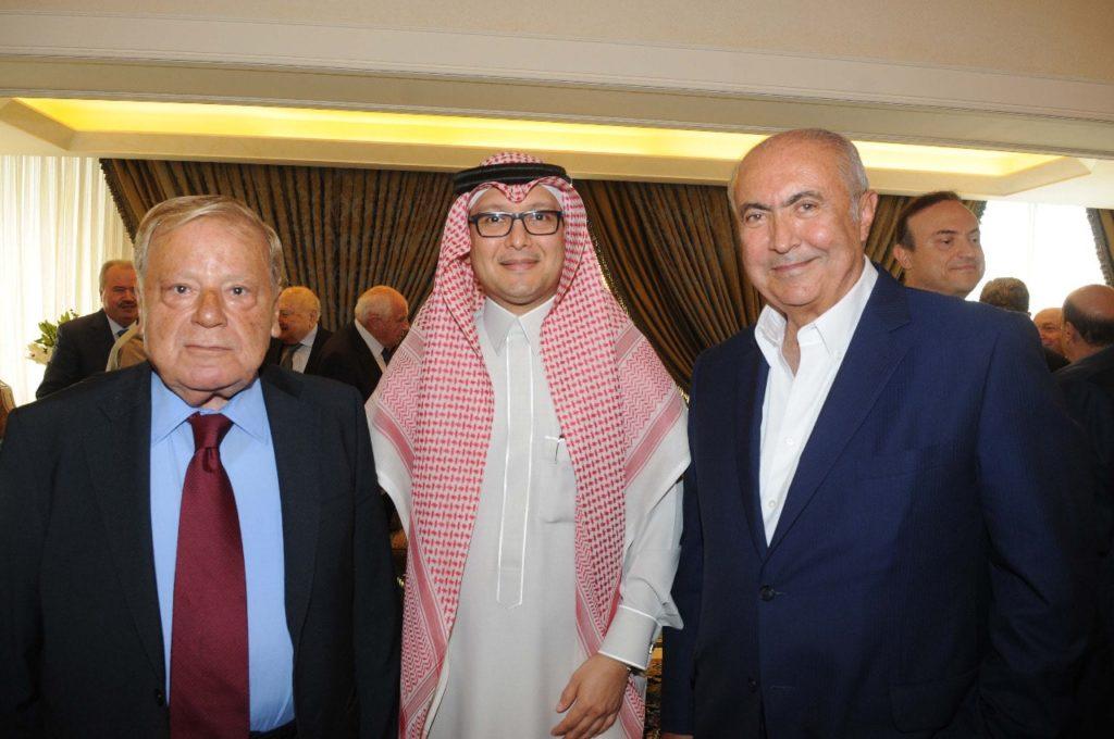 فؤاد مخزومي و السفير وليد البخاري