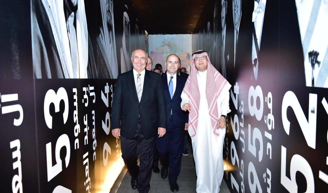 فؤاد مخزومي و سعادة السفير السعودي وليد البخاري