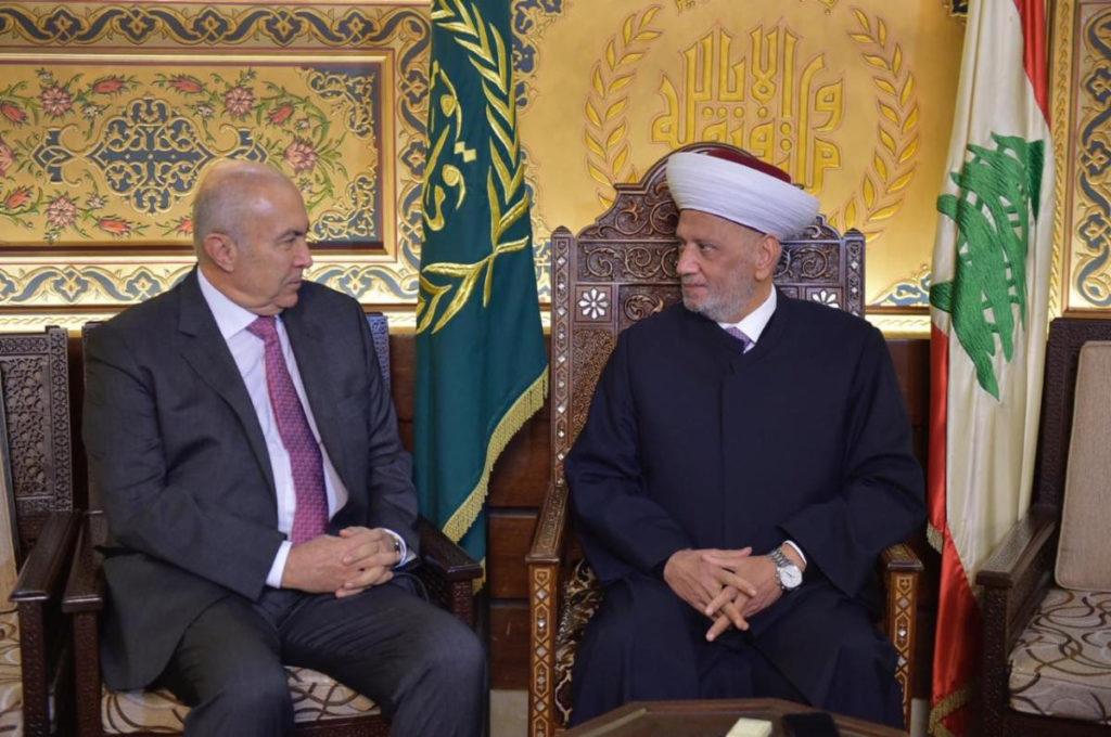 فؤاد مخزومي و سماحة الشيخ عبد اللطيف دريان