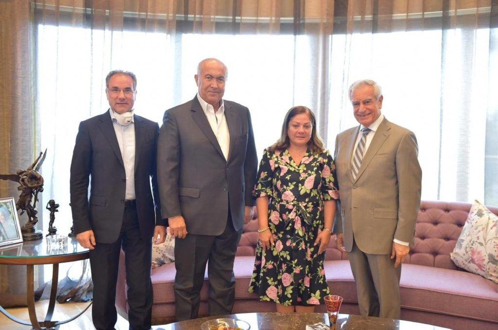 Fouad Makhzoumi and Dr. Joseph Jabra