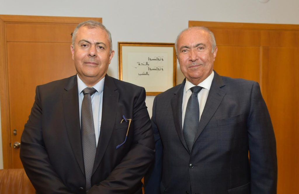 Fouad Makhzoumi and Marwan Abboud