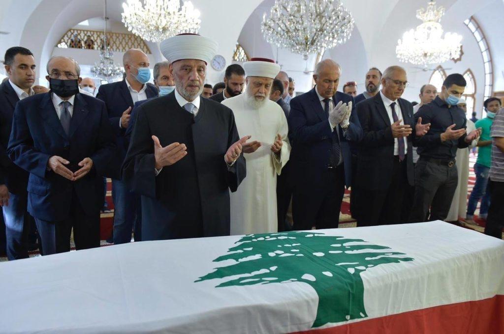 تشيع جثمان المدير العام السابق لقوى الأمن الداخلي اللواء عمر مخزومي