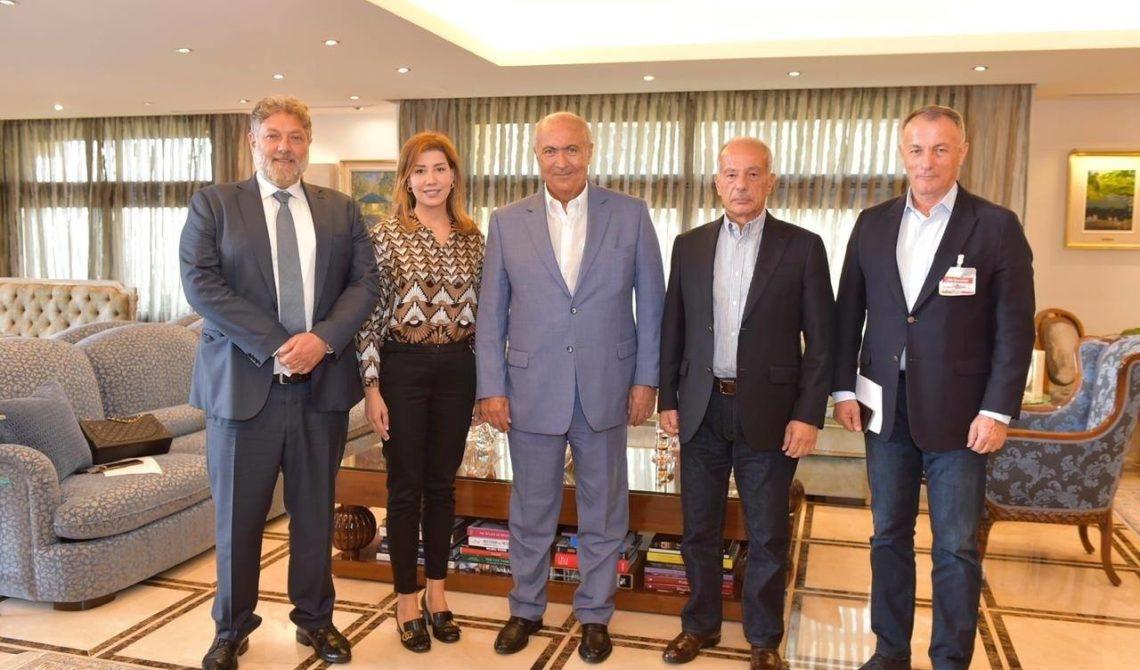 Fouad Makhzoumi - Chamel Roukoz - Jean Talouzian - Paula Yacoubian - Neemat Frem